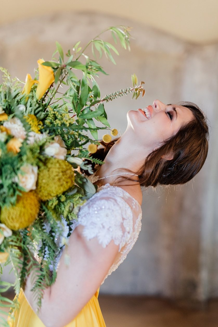 Yellow Shoot – Wedding Inspirations editorial