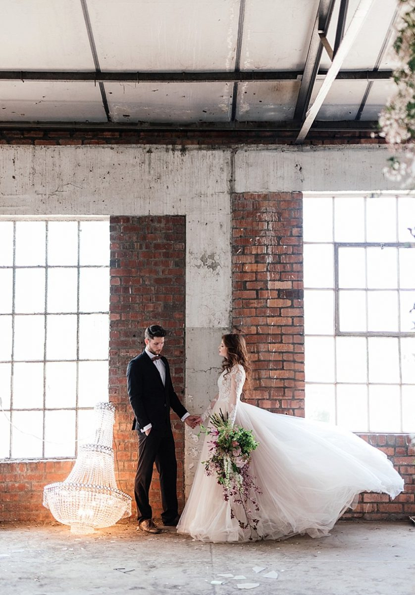 Whimsical Warehouse Wedding Inspiration with Anli Wahl