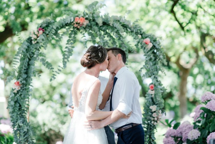 Jessica and John – A vintage Garden wedding