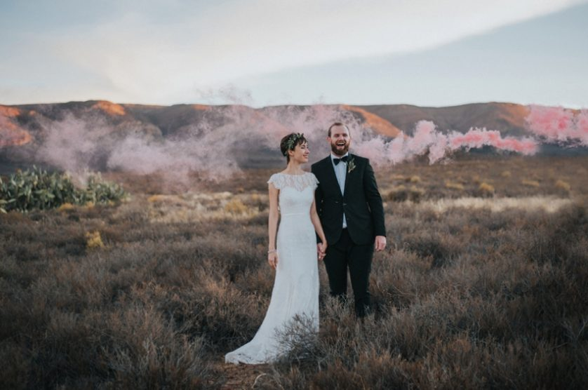 Wedding Preview:  Inge and Mark, Matjiesfontein – Karoo